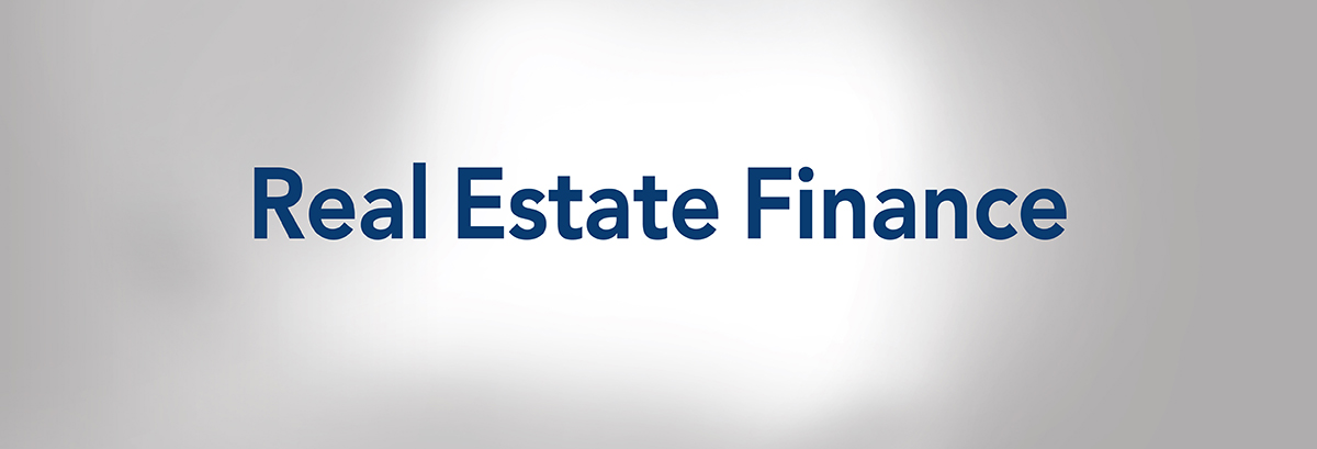 Real Estate Finance